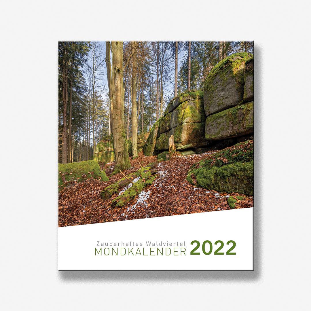 Zauberhaftes Waldviertel Mondkalender 2022