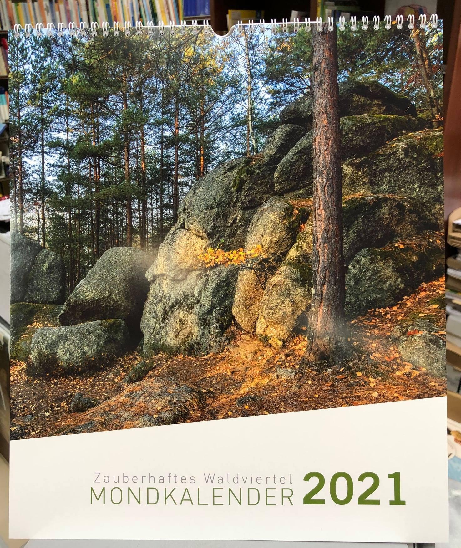 Zauberhaftes Waldviertel Mondkalender 2021